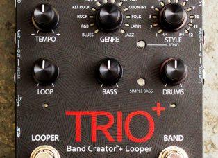 Pedal Trio+da Digitech