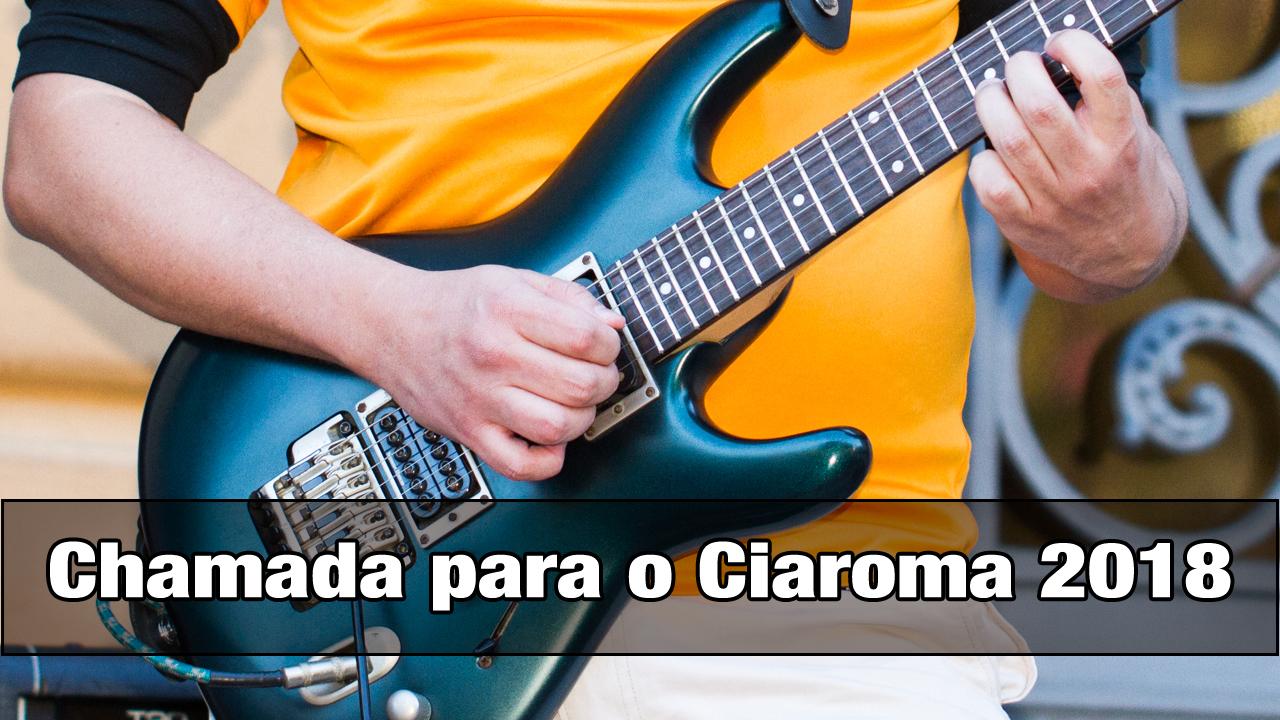 Read more about the article Ciaroma III (2018) – Apresentação com o Jhala