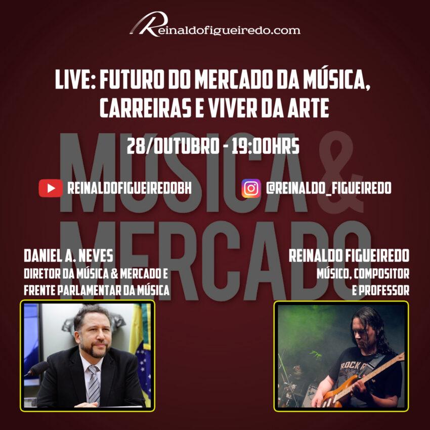 Read more about the article Live: Futuro do Mercado da Música, Carreiras e Viver da Arte